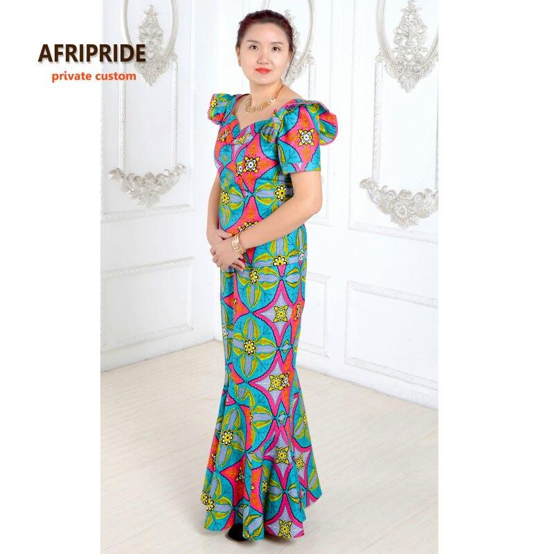 Sommarafrikanska klänningar för kvinnor tvådelade kostym - Nationella kläder - Foto 2