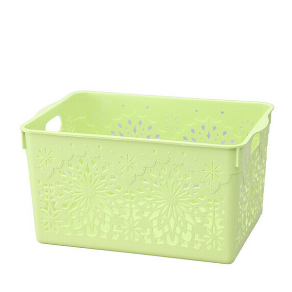 Hollow Out Thick Rectangular Plastic Storage Baskets Kitchen Bathroom  Desktop Storage Glove Box In Storage Boxes U0026 Bins From Home U0026 Garden On  Aliexpress.com ...