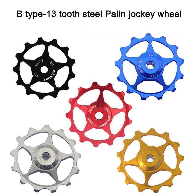 2Pcs 13T MTB Jockey Wheel Bicycle Bike Rear Derailleur Pulley Guide Roller