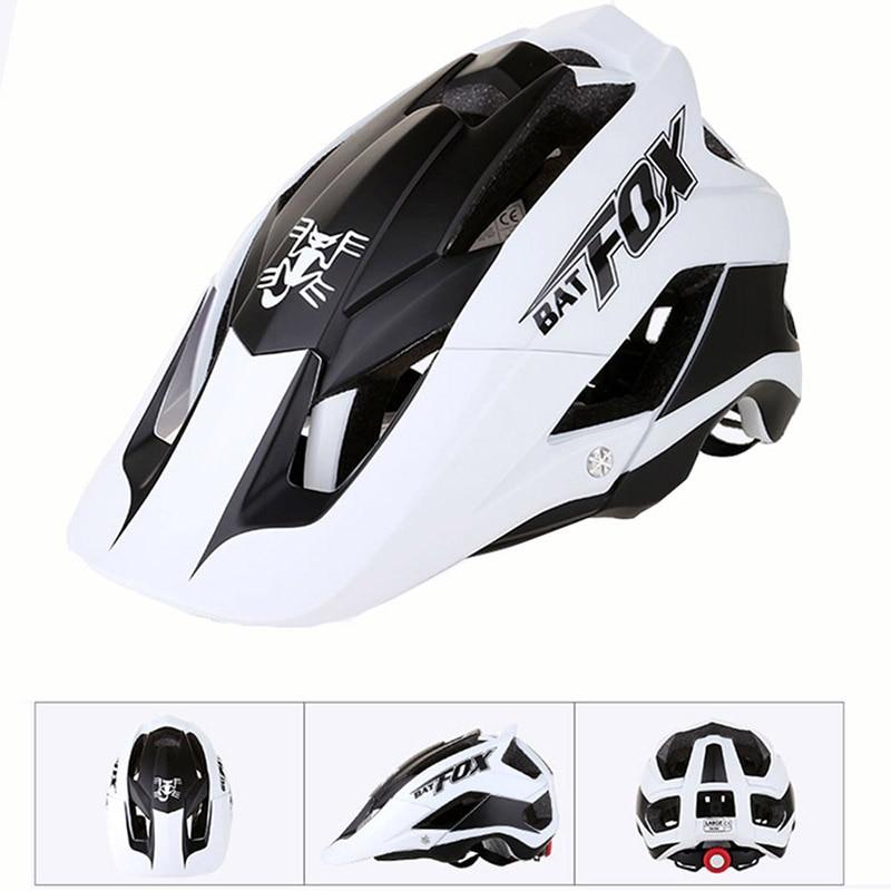 цена на BATFOX Cycling Helmet 15 Vents Ultralight Outdoor Sports Bike Bicycle Helmet Mtb Road Mountain Adjustable Skating casco ciclismo