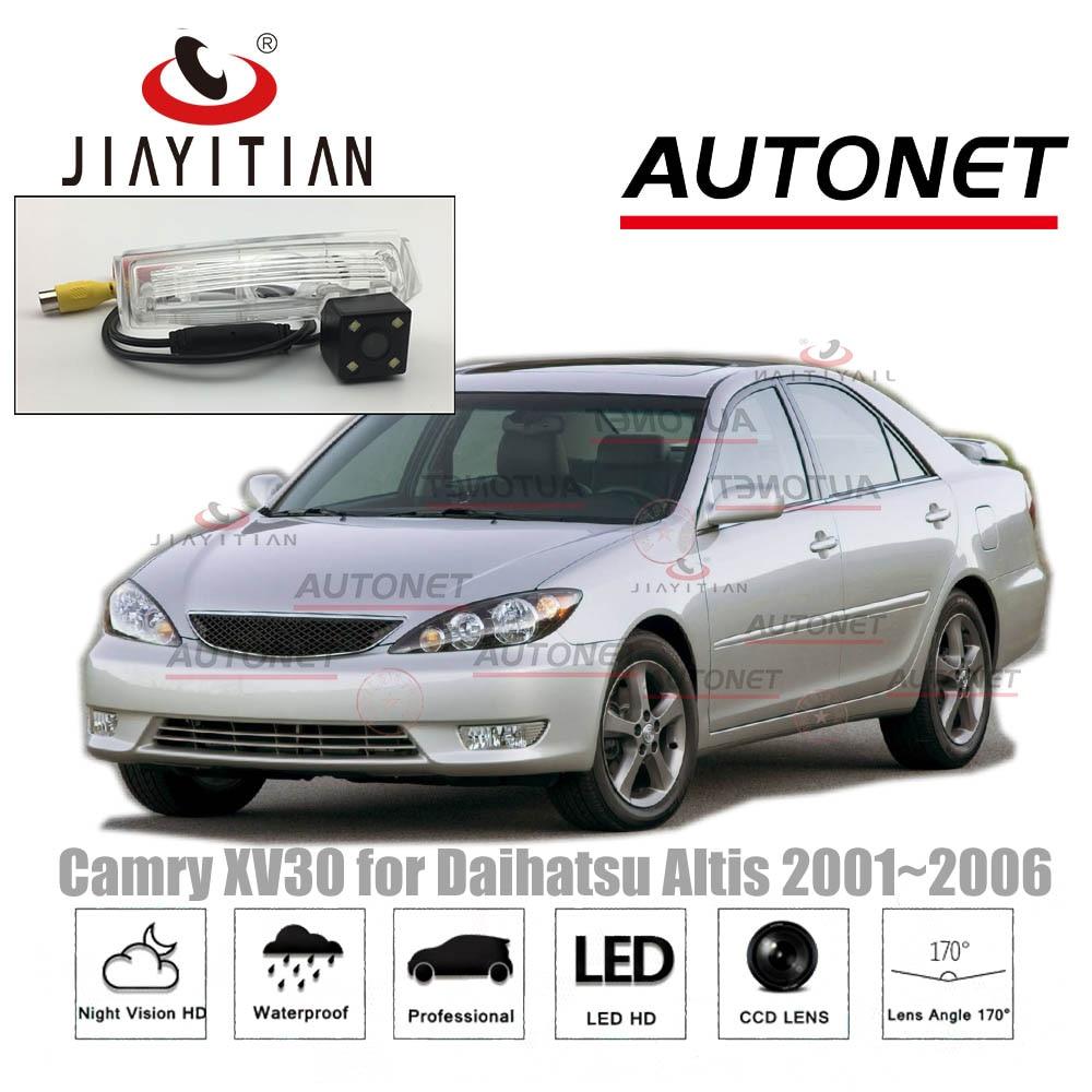 JIAYITIAN rear camera For Toyota Camry XV30 for Daihatsu Altis 2001~2006 /CCD/Night Vision/Backup Camera license plate camera reima комбинезон bunny