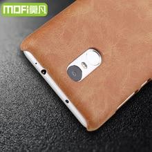 Xiaomi редми примечание pro 3 case MOFi Натуральная кожа компактный ультратонкий задняя крышка xiomi редми 3 примечание 5.5 дюймов fundas coque