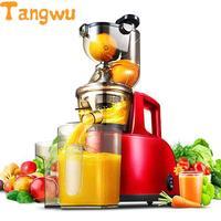 Free shipping Large diameter domestic juice machine slow speed multi function baby bean milk low motor