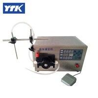 High Accuracy Peristaltic Pump Filling Machine 0 2 50ml
