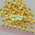 Wholesale 100PCS/Lot 3D Cute Shell Shape Gold Silver Alloy Nail Art Metal Decorations Gems Tip Free Shipping