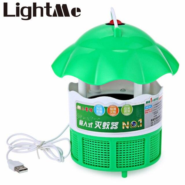 Горячие энергосберегающие 220В 2 Вт Интерфейс USB Фотокаталитический Электронный Убийца Комаров Лампа Для Ребенка И Беременных Женщин