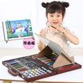 120 шт.  Подарочная коробка для школьной живописи  модный набор кистей для рисования граффити  креативные детские повседневные развлекательн...
