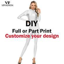 Body personalizado de VIP FASHION para mujer, traje de Zentai personalizado de diseño propio, traje de Zentai, Envío Gratis