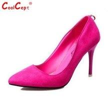แฟชั่นใหม่ผู้หญิงชี้เท้าผู้หญิงรองเท้าส้นสูงบางปั๊มตื้นปากยี่ห้องานแต่งงานส้นรองเท้าขนาด35-39 Z00290