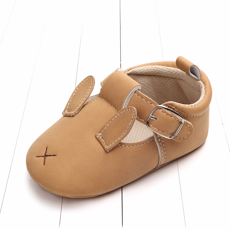 Baby First Walkers Matte leather Shoes for Baby Girl Boy Cartoon Animal Newborn Slippers Footwear Booties Kids Gift Child Shoes (31)