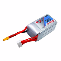 GNB 550mAh 22.2V 6S 80C/160C Lipo Battery with XT30 or XT60 Plug for FPV Racing Drone RC Quadcopter Helicopter Parts