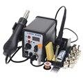 SAIKE 8586 ESD löten station LED digital lötkolben BGA rework löten station hot air gun schweißen maschine 700 W-in Lötstationen aus Werkzeug bei