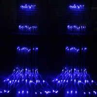 Lumière de vacances collier de météores, cascade rideau de glace à cordon 3 x3m 320
