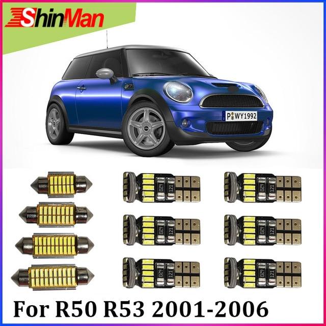 Shinman15x Error Free Led Car Light Interior Light Led Conversion