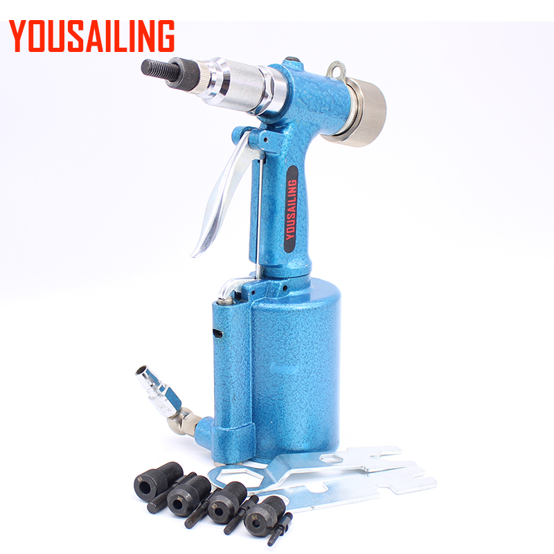 YOUSAILING M4 M10 Air Rivet Nuts Gun Semi automatic Pneumatic Riveter Nut Tool Riveting Gun