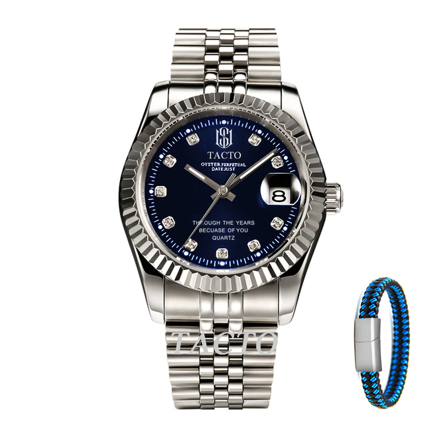 Relojes 2019 TACTO Watch Men Fashion Sport Mens Watches Top Brand Luxury Business role Waterproof Watch Relogio Masculino