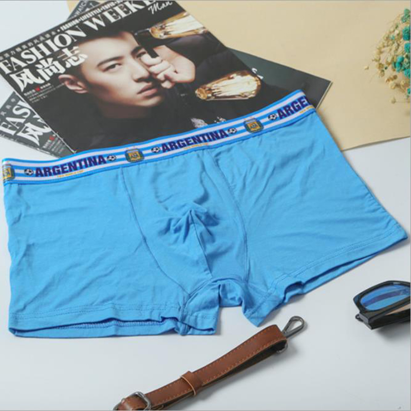 10pc New Boxers Men Underwear Countries Flag Comfortable Men Underpants High Quality Underwear Boxer Men Cueca Boxers Panties