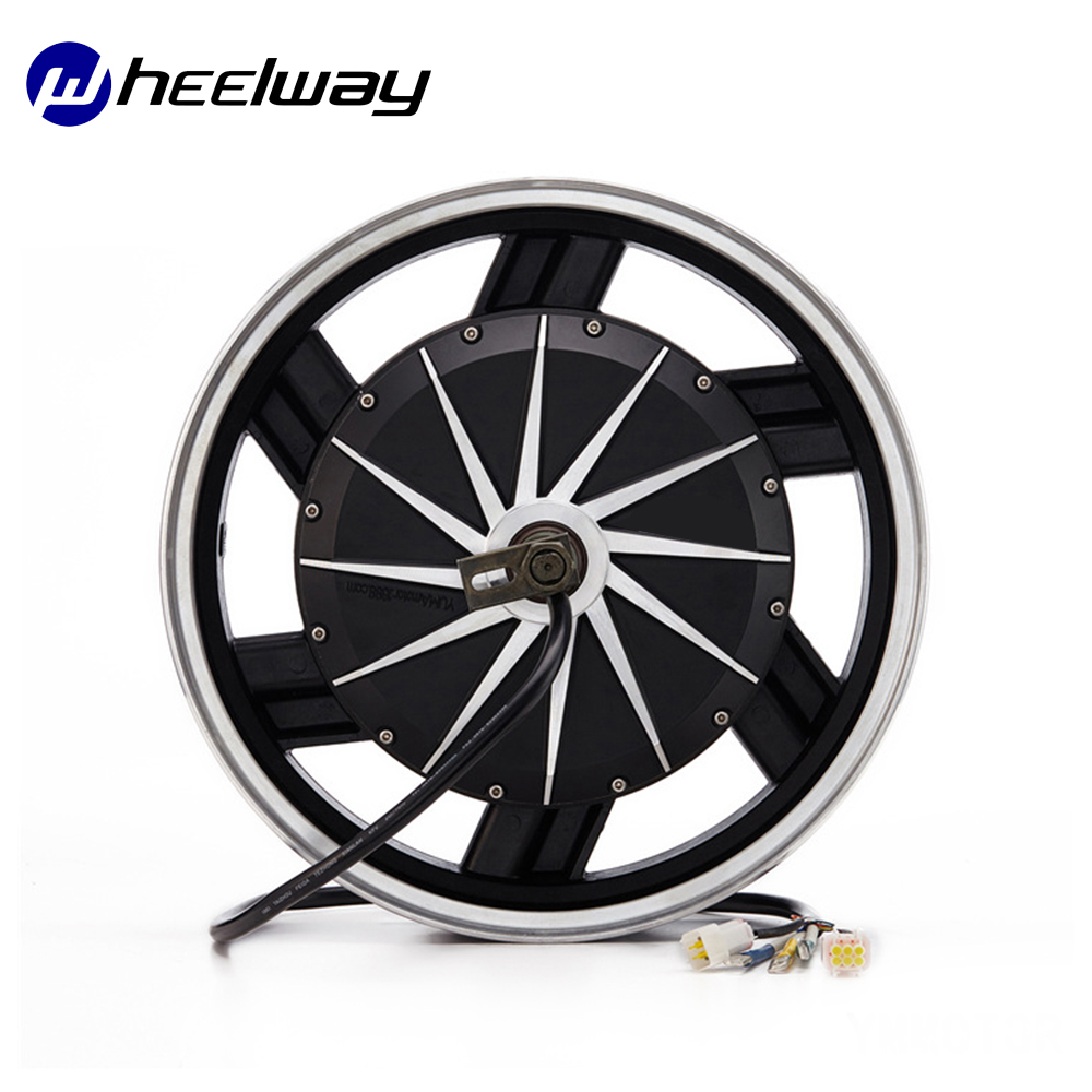 16Inch Electric Motorcycle Hub <font><b>Motor</b></font> 60V/72V/<font><b>96V</b></font>/120V 4000W Disc Brake <font><b>DC</b></font> DIY Electric Motorcycle Hub <font><b>Motor</b></font> image