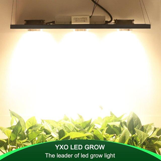 CREE CXB3590 300W COB Dimbare LED Grow Light Full Spectrum LED Lamp 38000LM = HPS 600W Groeien Lamp indoor Plant Groei Verlichting