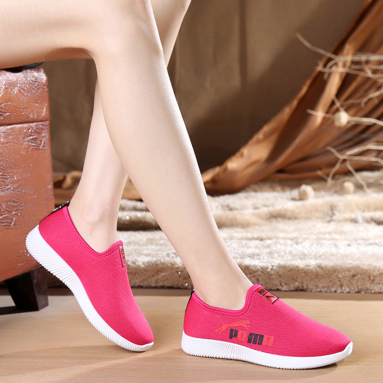 Spring and summer beijing cotton-made shoes female sport shoes network single shoes flat slip-resistant outsole soft plus size fashion summer flat slippers female soft indoor slip resistant outsole flip sandals plus size beach shoes