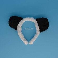 Black White Animal Panda Headband Headwear Headdress Ear Costume Party Fancy Dress New Decor
