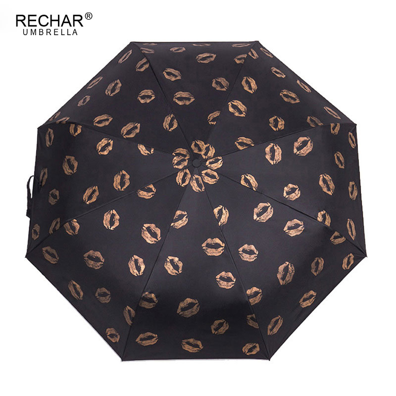 New Creative Parasols Umbrella Fully-automatic 3Folding Umbrella Rain Women Strong Wind Resistance Gifts Travel Man umbrella