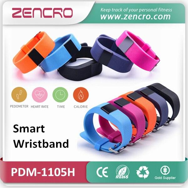 font b Smart b font Pedometer Heart Rate Wristband Calories Counter Sports Tracker font b