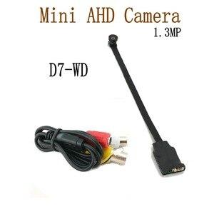 Image 4 - 1.3MP ミニ AHD カメラマイクロオーディオカメラ AHD/TVI/CVI/CVBS 4 で 1 AHD ため UTC DVR キットマイクロ CCTV カメラセキュリティシステム DC 12V