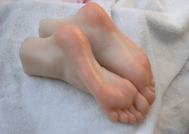 Foot fetish group sex
