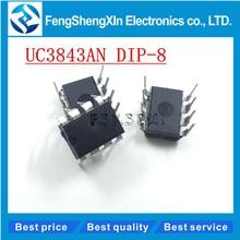 10pcs/lot New UC3843AN UC3843A Current Mode PWM Controller IC UC3843 DIP-8