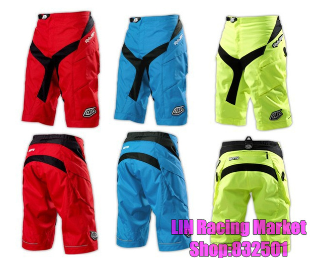 3857b8728 Best For Downhill Troy Lee Designs TLD Moto Shorts Motocross Clothing MX  BMX MTB Dirt Bike Cycling Short Pants fluorescent