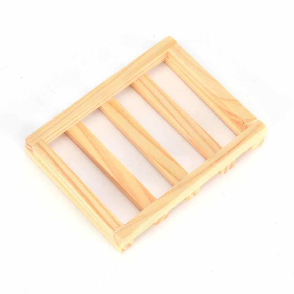6 style naturalne drewno mydło tacka elastyczne wodospad mydelniczka taca uchwyt drenażu łazienka mydelniczka prysznicowa taca do przechowywania