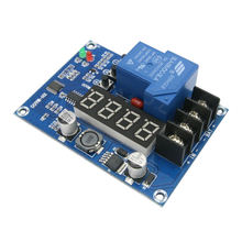 Xh-M600 Charger Control Module 6-60V Storage Lithium Battery Charging Protection Board Controller For 12V 24V 48V Battery цена