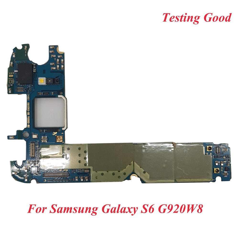Tehxv Original 32GB Motherboard For G920W8 ,Unlocked for Samsung Galaxy S6  G920W8 Logic Board