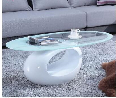Современная мода творческий чайный столик несколько закаленное стекло чай несколько простых эллиптических выпечки лаком стол небольшой ч...