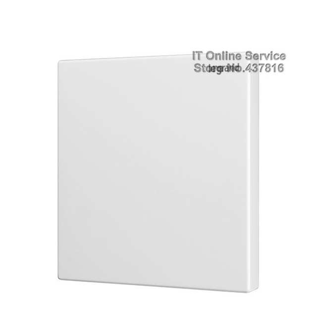 High Quality 86 Type Blank Wall Switch Panel Bottom Cover Plate Decoration