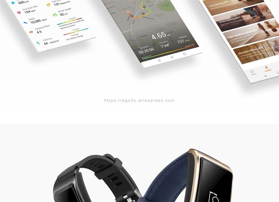 pulseira inteligente tela colorida saúde pulseira de