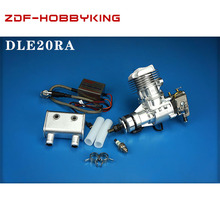 محرك بنزين DLE أصلي جديد بقوة 20 سي سي وقدرة 20 سي سي طراز DLE 20RA لطراز RC