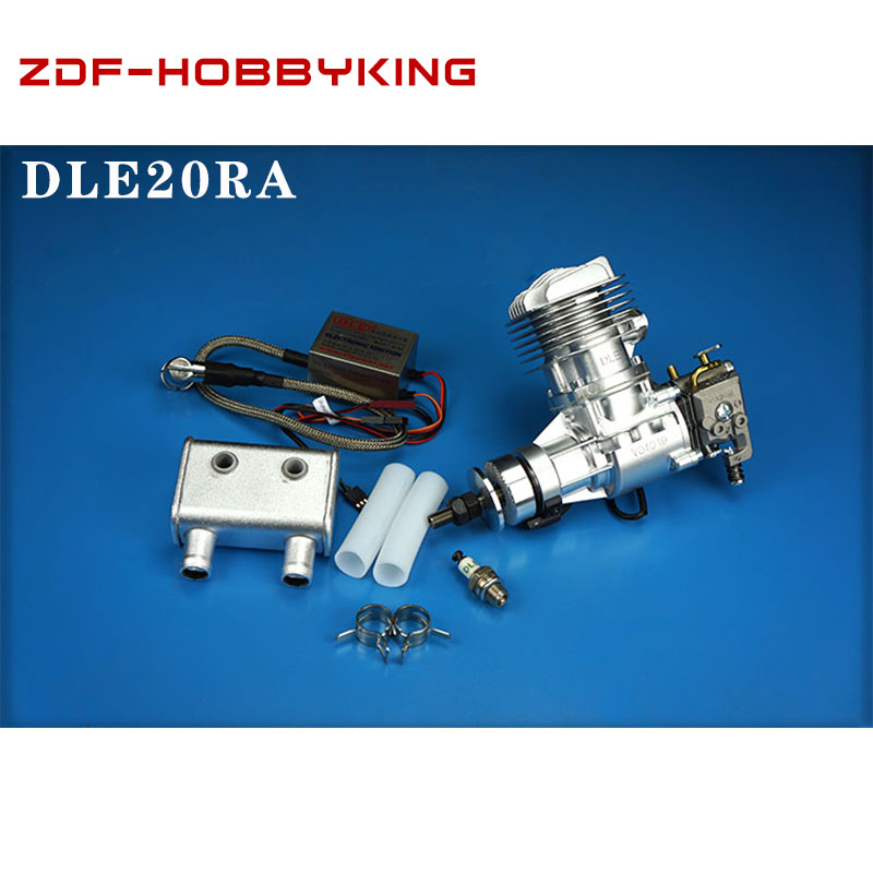 DLE Original new DLE 20CC DLE20RA DLE 20RA Gasoline Engine for RC Model image