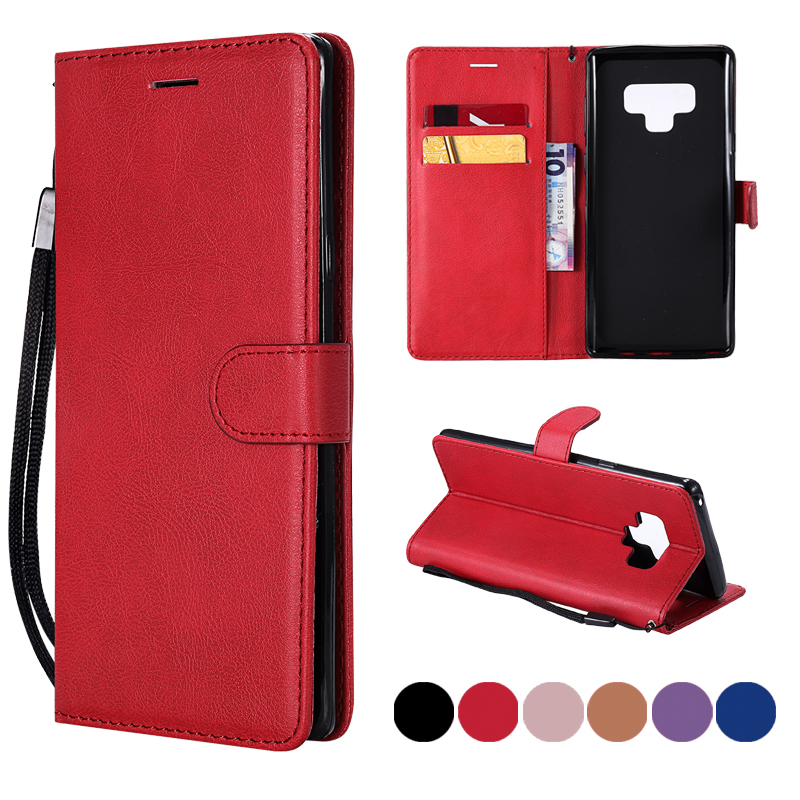 FLYKYLIN For Fundas Samsung Galaxy Note 9 Case cover For Coque Samsung Note 8 cover Case Leather Flip Wallet Card Phone Cover
