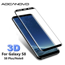 3D protective glass for samsung s8 galaxy s8 plus 9H full cover screen protector