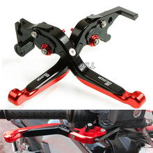 Aluminum Motorbike Levers Motorcycle Brake Clutch Levers Folding Flexible For Ducati MONSTER 821 Dark Stripe 2014-2017 motorcycle brake clutch levers five colors for ducati 821 monster dark stripe hypermotard scrambler motorcycle accessories