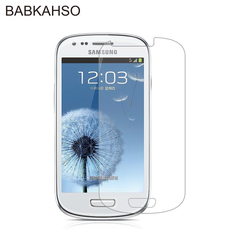 HD 2.5D Tempered Glass For Samsung Galaxy S3 Mini S3mini I8190 GT-i8190 Screen Protector Front Protective Film