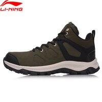 Li Ning Men Boots Hi Hiking Shoes Classic WARM SHELL Walking Sneakers Winter Warm LiNing Sport Shoes AGCM189 YXB101