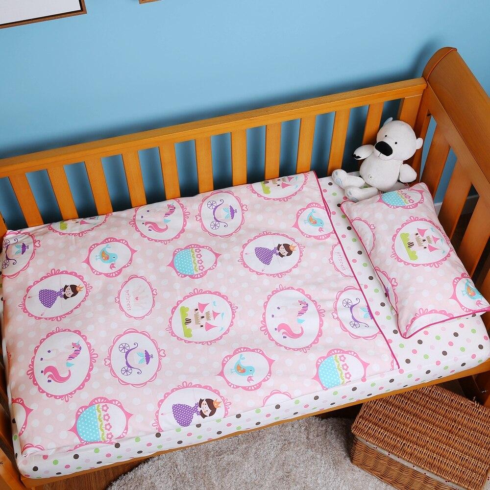 i-baby Baby Bedding - Pink Mała księżniczka taneczna 3PCS Printed - Pościel - Zdjęcie 3