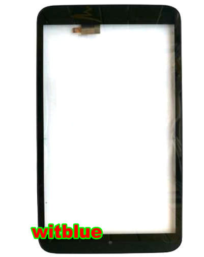 New touch screen For 8 Alcatel OneTouch P350X POP 8S OT-P350X Tablet panel Digitizer Glass Sensor replacement Free Shipping 100% original new mid glass 8 for alcatel one touch pixi 3 8 0 9022x 8gb lte tablet touch screen panel digitizer glass sensor