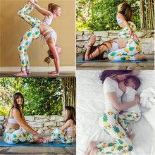 Mother Baby Yoga Fitness Pants