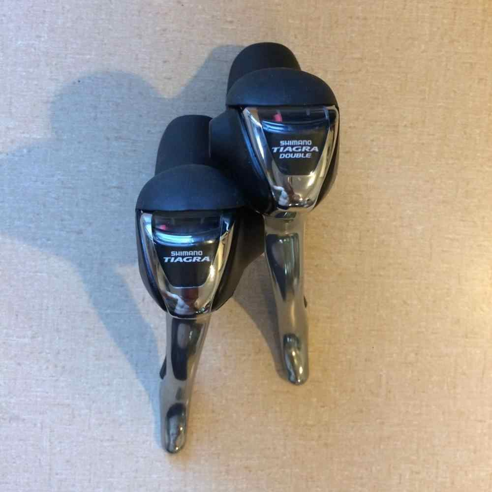 Shimano Tiagra ST-4500 ST-4501 Double Shifters 9 Speed STI Lever Cycling  Road