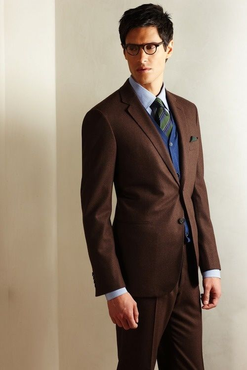 Mens Suits Brown | My Dress Tip