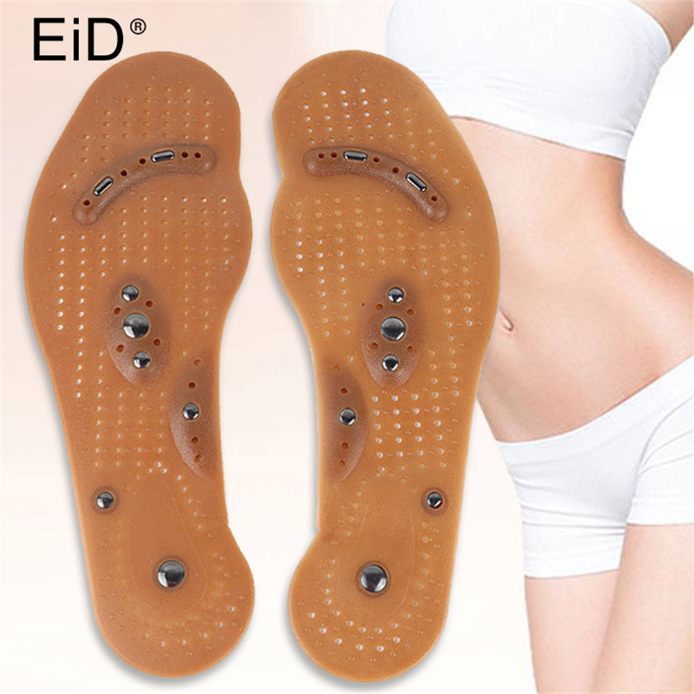 Magnetic Therapy Slimming Insoles For Weight Loss Foot Massage Health Care Shoes Mat Pad Acupuncture Sole Foot Care